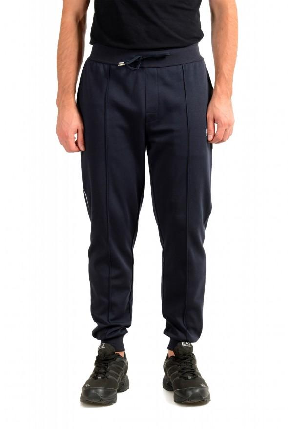 "Hugo Boss ""Tracksuit Pants"" Blue Stretch Casual Sweat Pants"