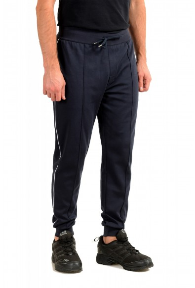 """Hugo Boss """"Tracksuit Pants"""" Blue Stretch Casual Sweat Pants: Picture 2"""