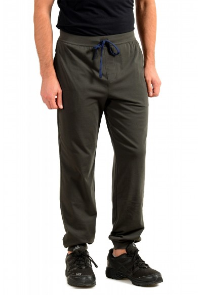 """Hugo Boss """"Mix&Match"""" Olive Green Stretch Casual Lounge Pants: Picture 2"""