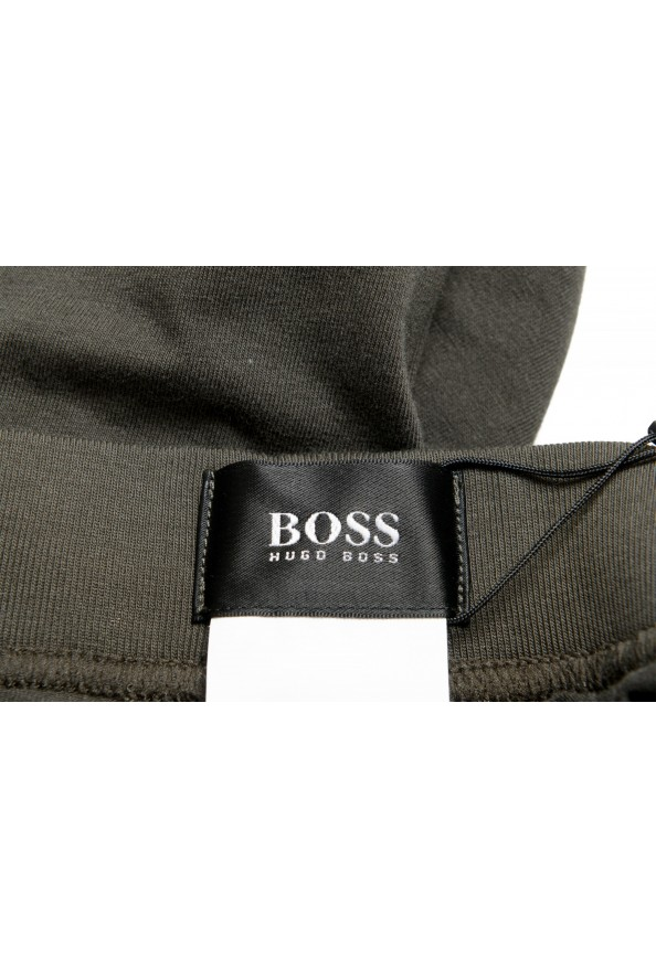 """Hugo Boss """"Mix&Match"""" Olive Green Stretch Casual Lounge Pants: Picture 4"""