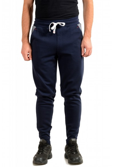 "Hugo Boss ""Contemp Pants"" Blue Stretch Casual Sweat Pants"