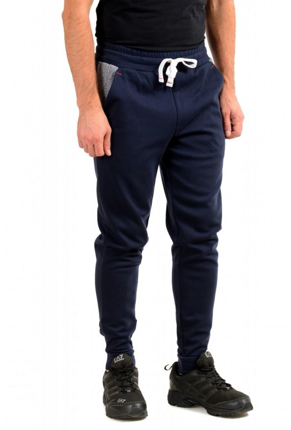 "Hugo Boss ""Contemp Pants"" Blue Stretch Casual Sweat Pants: Picture 2"
