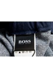 "Hugo Boss ""Contemp Pants"" Blue Stretch Casual Sweat Pants: Picture 4"