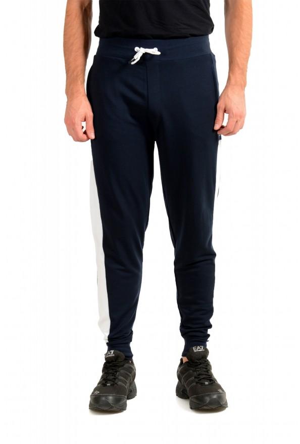 "Hugo Boss ""Fashion Pants"" Blue Stretch Casual Sweat Pants"
