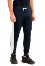 "Hugo Boss ""Fashion Pants"" Blue Stretch Casual Sweat Pants: Picture 2"