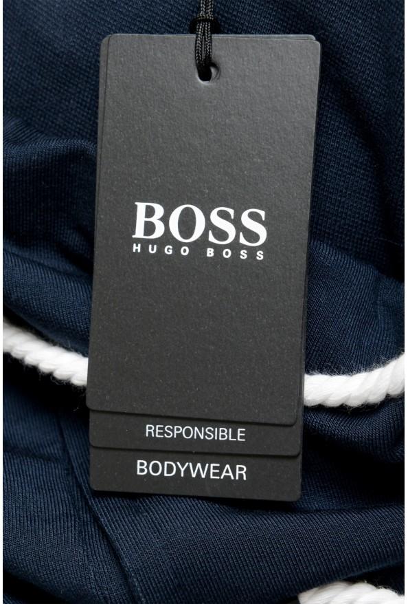 "Hugo Boss ""Fashion Pants"" Blue Stretch Casual Sweat Pants: Picture 4"