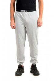 "Hugo Boss ""Identity Pants"" Gray Stretch Casual Lounge Pants"