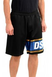 Dsquared2 Men's S74MU0503 Black Sweat Shorts : Picture 2