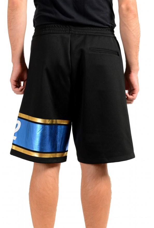 Dsquared2 Men's S74MU0503 Black Sweat Shorts : Picture 3