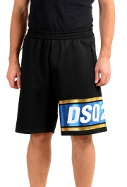 Dsquared2 Men's S74MU0503 Black Sweat Shorts