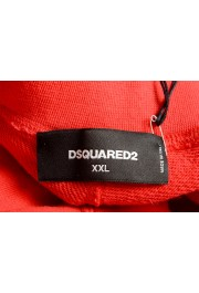 Dsquared2 Men's S71MU0514 Red Printed Sweat Shorts : Picture 4