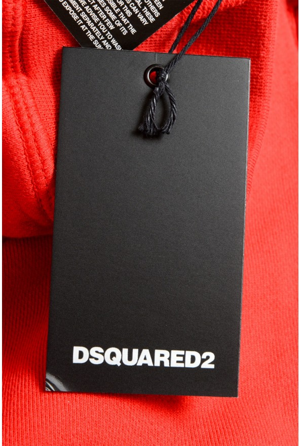 Dsquared2 Men's S71MU0514 Red Printed Sweat Shorts : Picture 5