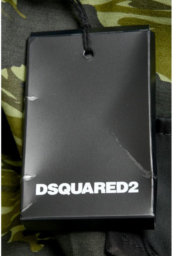 Dsquared2 Men's Multi-ColorS74NU0535 Casual Cargo Shorts: Picture 5