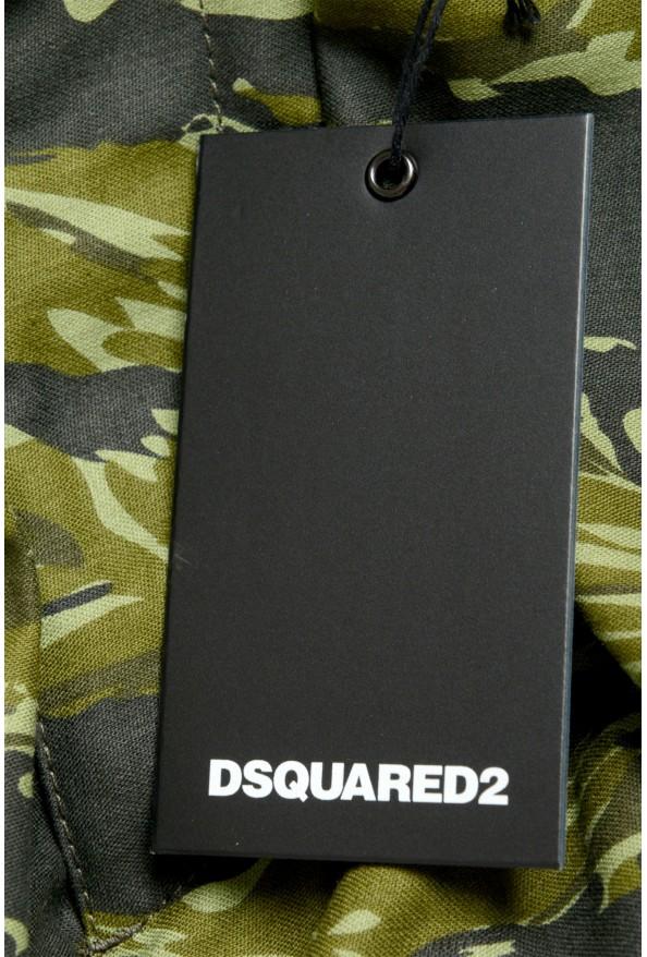 Dsquared2 Men's Multi-ColorS74NU0535 Casual Cargo Shorts: Picture 6