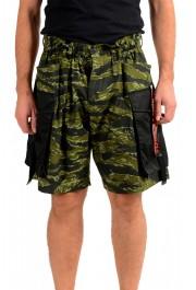 Dsquared2 Men's Multi-ColorS74NU0535 Casual Cargo Shorts
