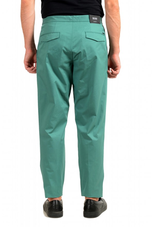 "Hugo Boss Men's ""Parik-2P-D"" Relaxed Fit Green Casual Pants : Picture 3"