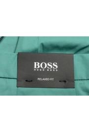 "Hugo Boss Men's ""Parik-2P-D"" Relaxed Fit Green Casual Pants : Picture 4"
