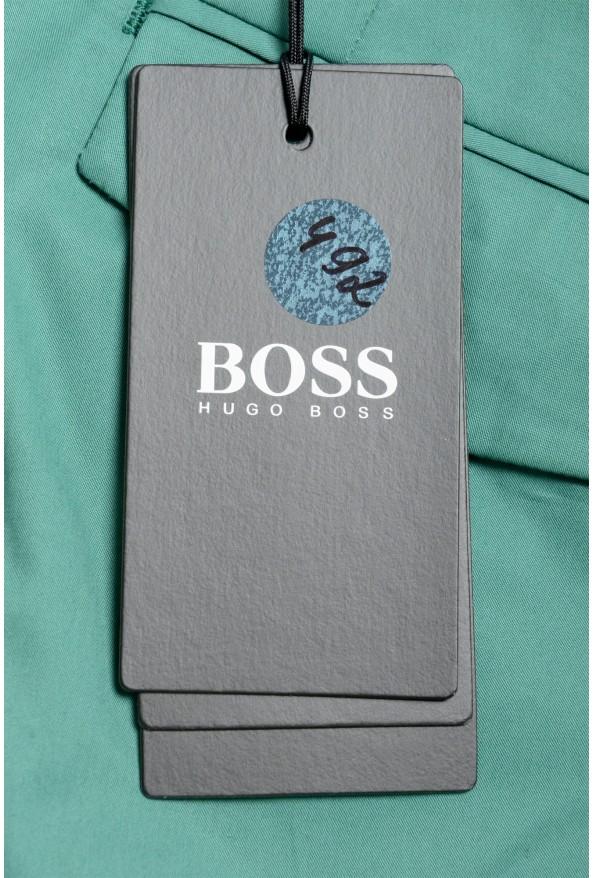 "Hugo Boss Men's ""Parik-2P-D"" Relaxed Fit Green Casual Pants : Picture 5"