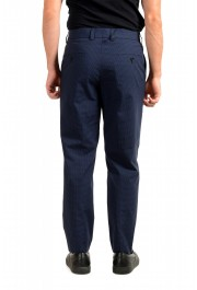"Hugo Boss Men's ""Perin3"" Blue Plaid Casual Pants : Picture 3"