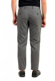 """Hugo Boss Men's """"Genius5"""" Slim Fit Gray 100% Wool Plaid Dress Pants: Picture 3"""