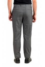 "Hugo Boss Men's ""T-Ned/Brite1"" Gray 100% Silk Plaid Dress Pants: Picture 3"