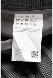 "Hugo Boss Men's ""T-Ned/Brite1"" Gray 100% Silk Plaid Dress Pants: Picture 4"