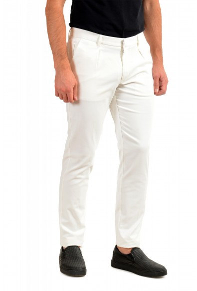 """Hugo Boss Men's """"T-Kaito-Pleats"""" Ivory Pleated Casual Pants: Picture 2"""