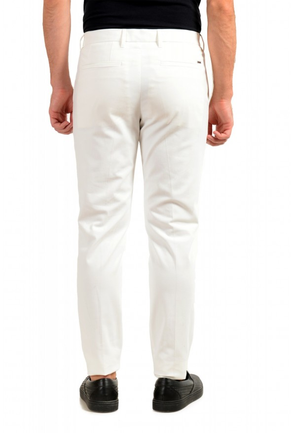 """Hugo Boss Men's """"T-Kaito-Pleats"""" Ivory Pleated Casual Pants: Picture 3"""