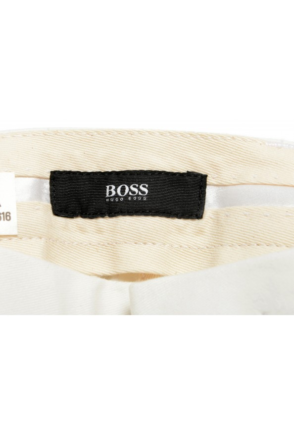 """Hugo Boss Men's """"T-Kaito-Pleats"""" Ivory Pleated Casual Pants: Picture 5"""