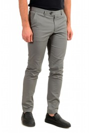 """Hugo Boss Men's """"T-Kaito"""" Gray Silk Flat Front Casual Pants: Picture 2"""