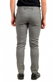 """Hugo Boss Men's """"T-Kaito"""" Gray Silk Flat Front Casual Pants: Picture 3"""