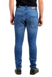 """Hugo Boss Men's """"Hugo 432"""" Blue Wash Straight Leg Jeans: Picture 3"""