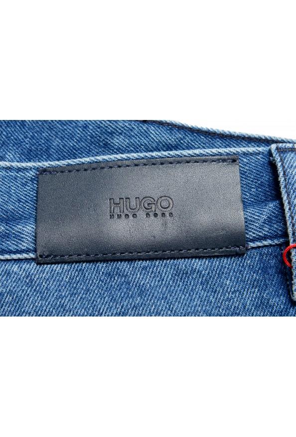 """Hugo Boss Men's """"Hugo 432"""" Blue Wash Straight Leg Jeans: Picture 4"""