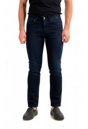 """Hugo Boss Men's """"Delaware3-1"""" Slim Fit Blue Straight Leg Jeans"""