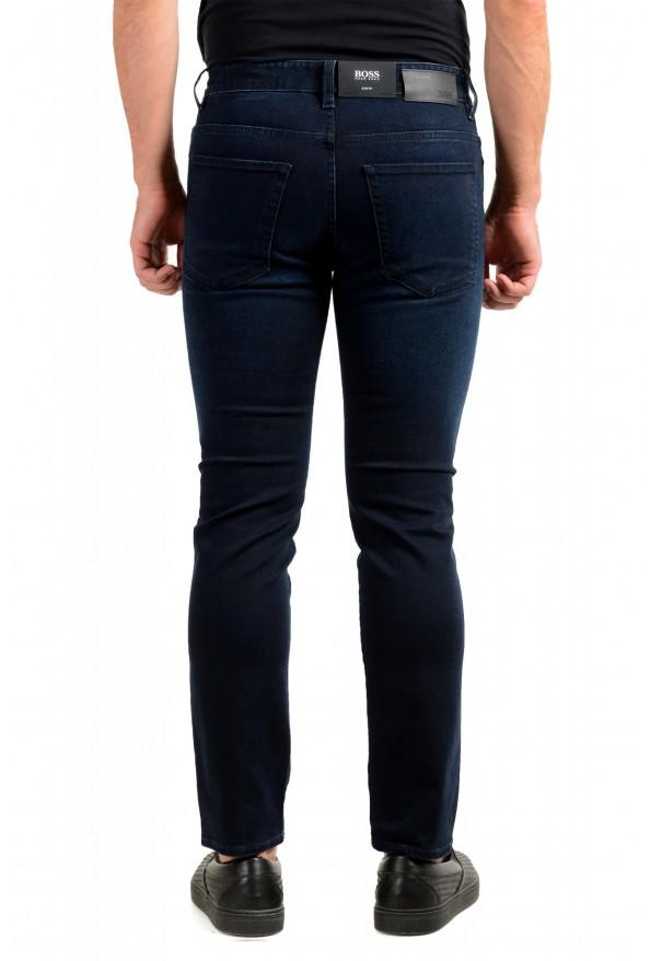 """Hugo Boss Men's """"Delaware3-1"""" Slim Fit Blue Straight Leg Jeans: Picture 3"""