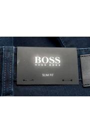 """Hugo Boss Men's """"Delaware3-1"""" Slim Fit Blue Straight Leg Jeans: Picture 5"""