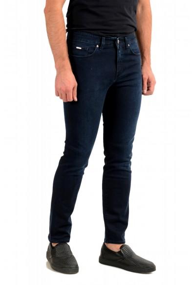 """Hugo Boss Men's """"Delaware3-1"""" Slim Fit Blue Straight Leg Jeans: Picture 2"""