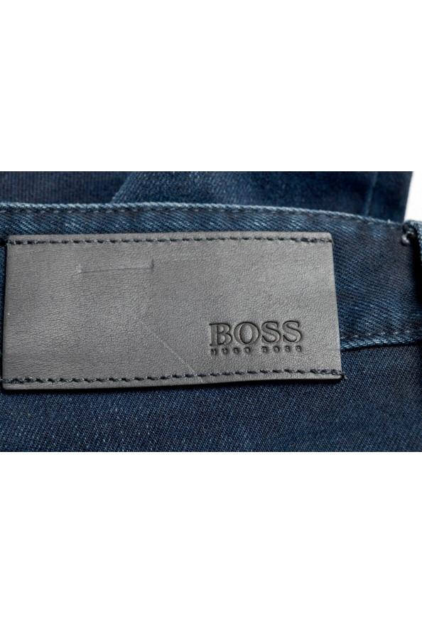 """Hugo Boss Men's """"Delaware3-1"""" Slim Fit Blue Straight Leg Jeans: Picture 4"""