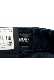 """Hugo Boss Men's """"Delaware3-1"""" Slim Fit Blue Straight Leg Jeans: Picture 6"""