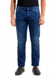 """Hugo Boss Men's """"Delaware3"""" Slim Fit Blue Straight Leg Jeans"""
