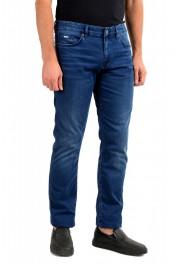 """Hugo Boss Men's """"Delaware3"""" Slim Fit Blue Straight Leg Jeans: Picture 2"""