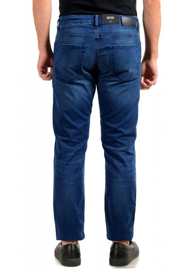 """Hugo Boss Men's """"Delaware3"""" Slim Fit Blue Straight Leg Jeans: Picture 3"""