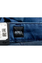 """Hugo Boss Men's """"Delaware3"""" Slim Fit Blue Straight Leg Jeans : Picture 6"""