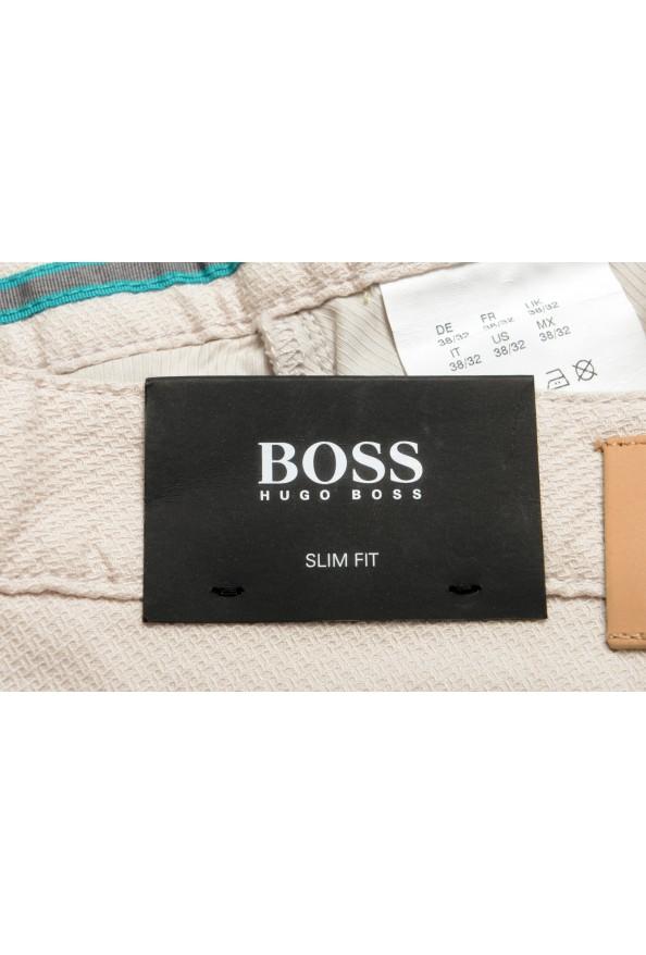 """Hugo Boss Men's """"Delaware3-1"""" Slim Fit Gray Straight Leg Jeans : Picture 5"""