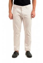 """Hugo Boss Men's """"Delaware3-1"""" Slim Fit Gray Straight Leg Jeans"""