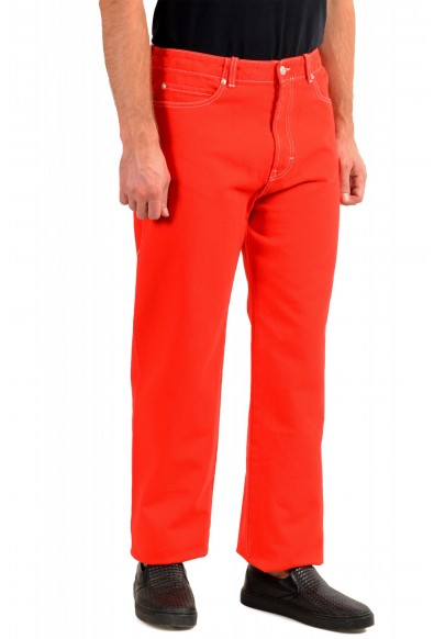 """Hugo Boss Men's """"Hugo 443 192FS"""" Red Relaxed Fit Jeans: Picture 2"""