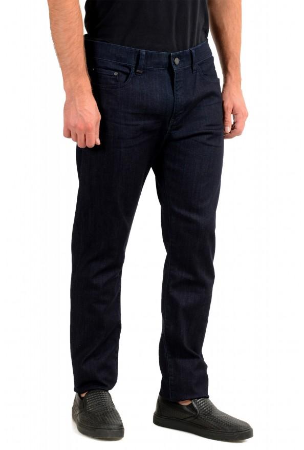 """Hugo Boss Men's """"Delaware3-1"""" Slim Fit Blue Straight Leg Jeans : Picture 2"""