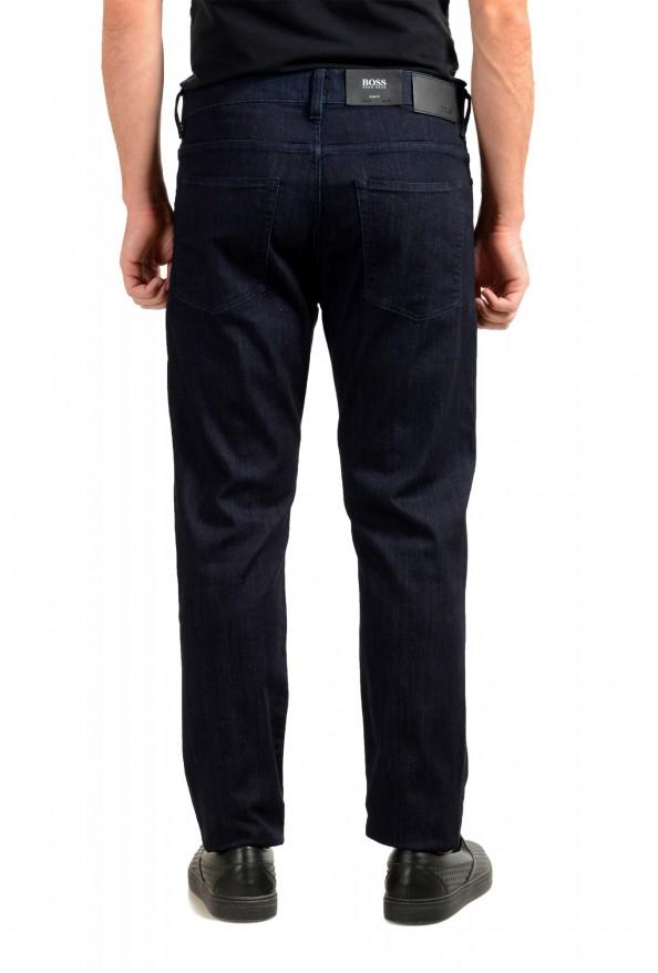 """Hugo Boss Men's """"Delaware3-1"""" Slim Fit Blue Straight Leg Jeans : Picture 3"""
