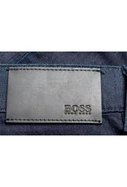 """Hugo Boss Men's """"Delaware3-1"""" Slim Fit Blue Straight Leg Jeans : Picture 4"""