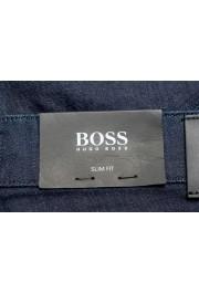 """Hugo Boss Men's """"Delaware3-1"""" Slim Fit Blue Straight Leg Jeans : Picture 5"""